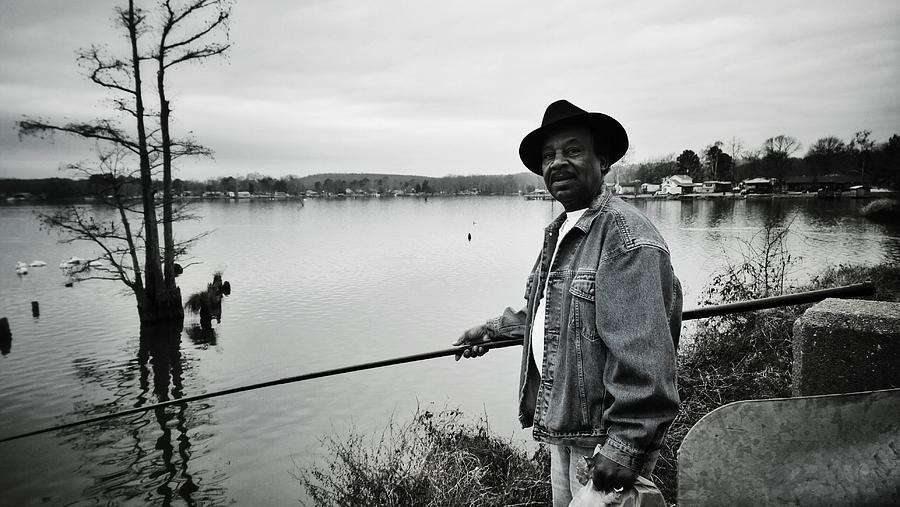 Fishing Photograph - Whatever I Can Catch by Tommy Wallace