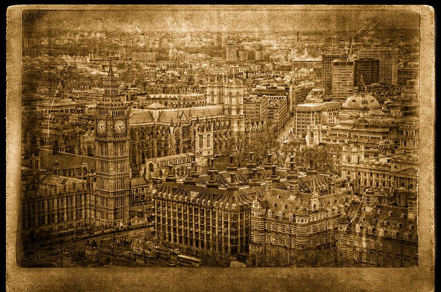 Big Ben Photograph - Whats The Time by Vessela Banzourkova
