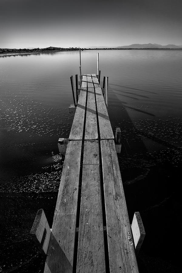 Architecture Photograph - Whats Up Dock by Peter Tellone