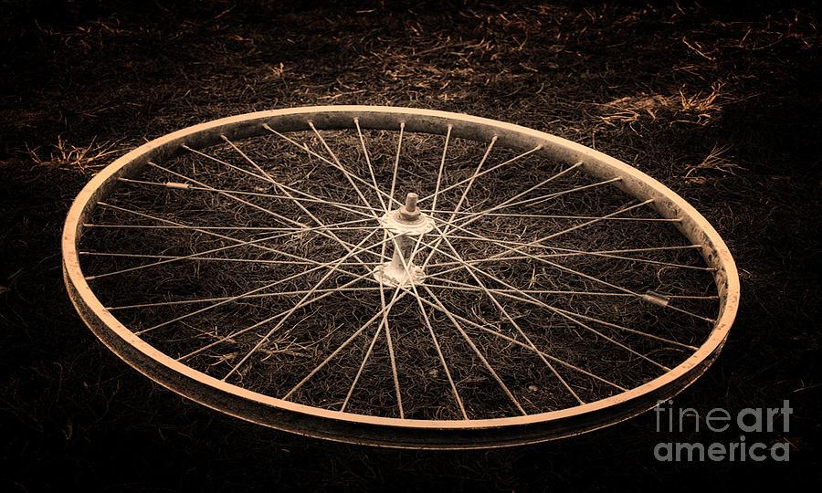 Wheel Photograph - Wheel by Sinisa Botas