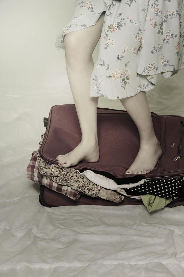 Woman Photograph - When A Woman Travels by Joana Kruse