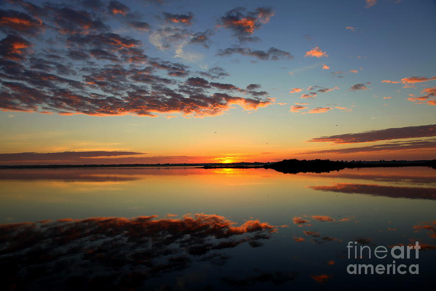 Skyscapes Photograph - When Heaven Blankets The Earth by Karen Wiles
