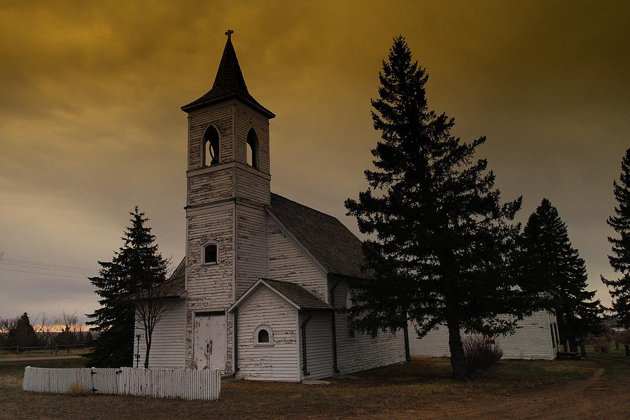 Churches Photograph - When Heaven Is Your Home by Jeff Swan