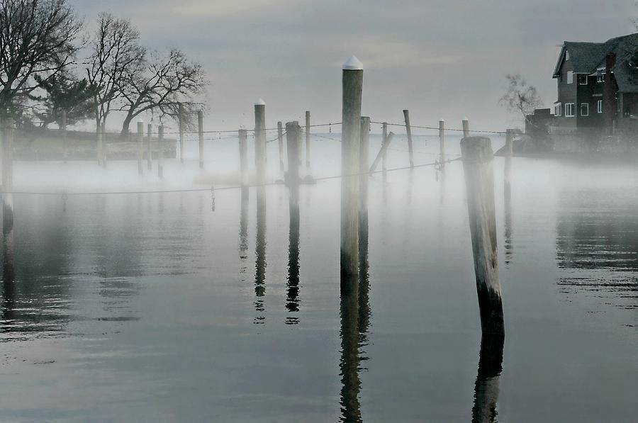 Fog Photograph - When I Look In Your Eyes by Diana Angstadt