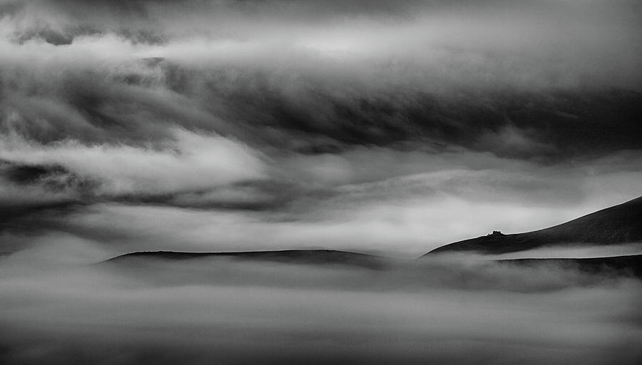 Landscape Photograph - When The Sky Meets The Land by Peter Svoboda, Mqep