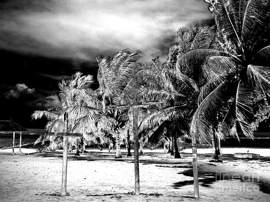 When The Veil Tore Open Infrared Extreme Photograph