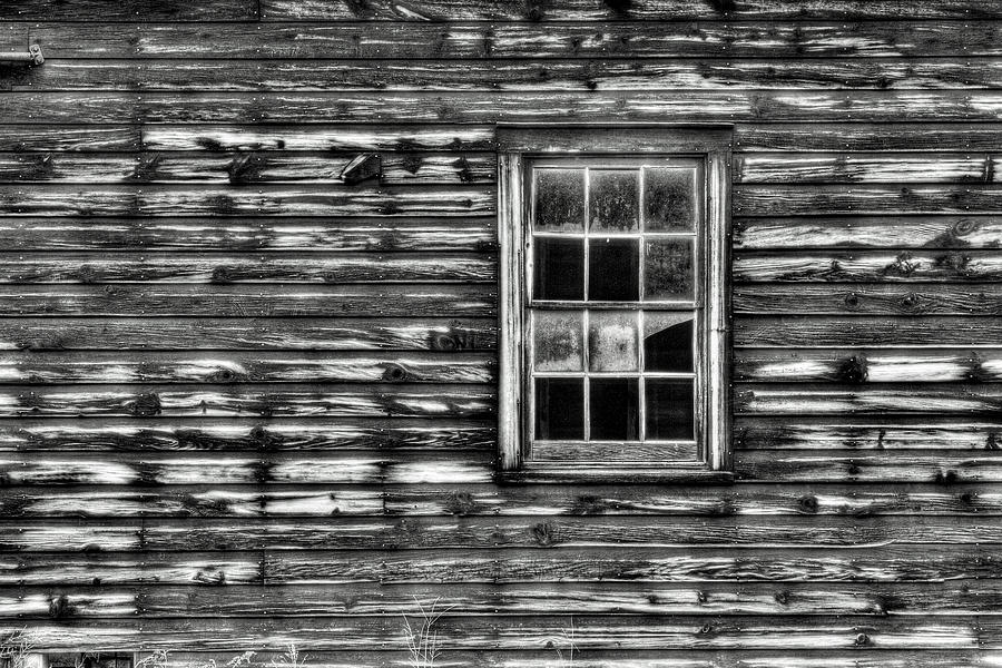 Black And White Photograph - When Times Were Simpler by Dawn J Benko