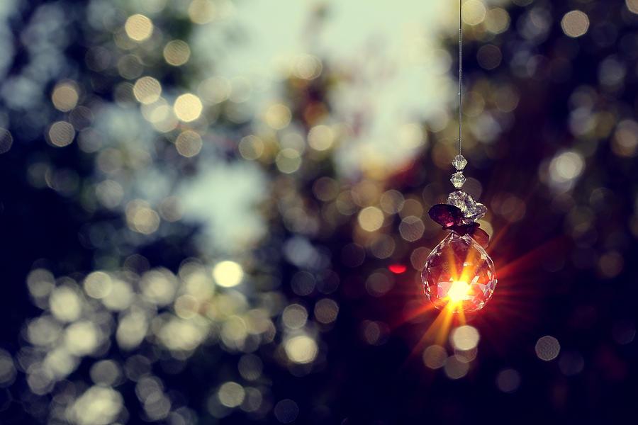 Pendant Photograph - When Wishes Come True by Beata  Czyzowska Young