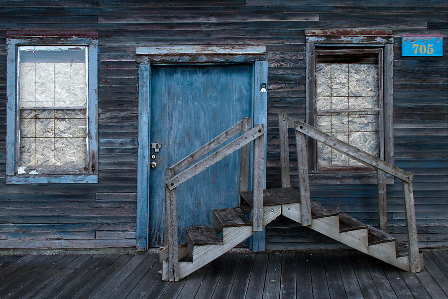 Door Photograph - Where Do We Go From Here? by Chuck De La Rosa