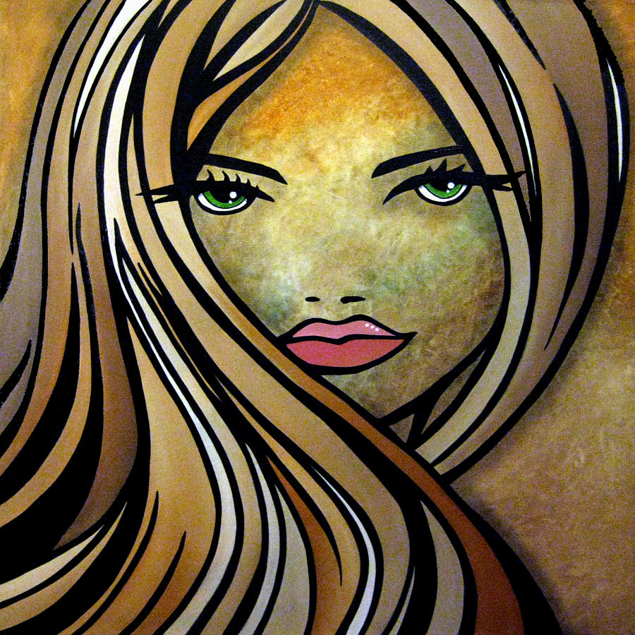 Pop Art Painting - Where Have You Been By Fidostudio by Tom Fedro - Fidostudio