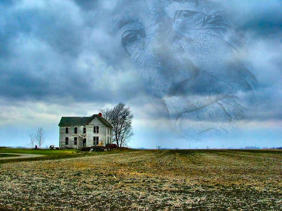 Illinois Photograph - Where His Memories Were Made by Julie Dant