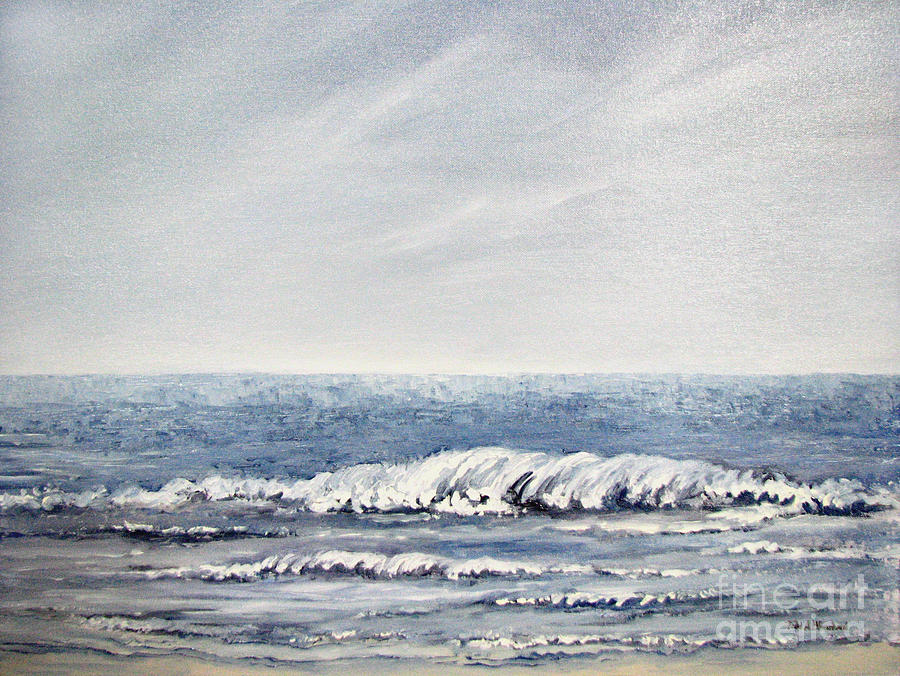 Seascape Painting - Where I Want To Be by Todd A Blanchard