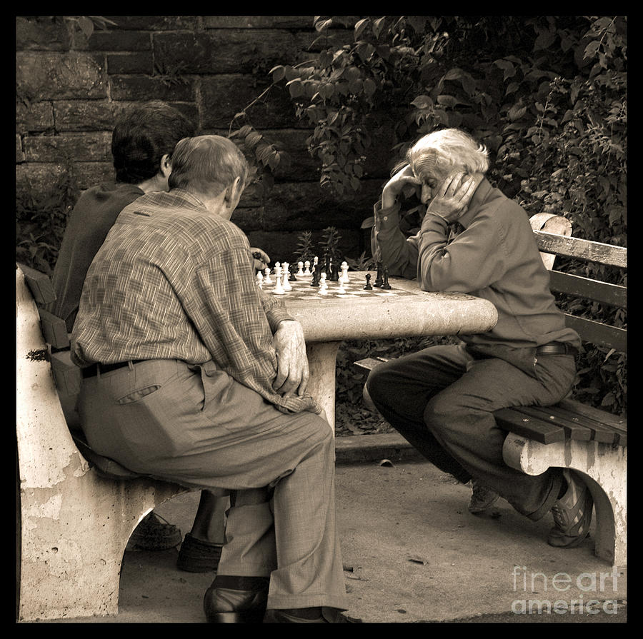 Friends Photograph - Where Is Bobby Fischer by Madeline Ellis