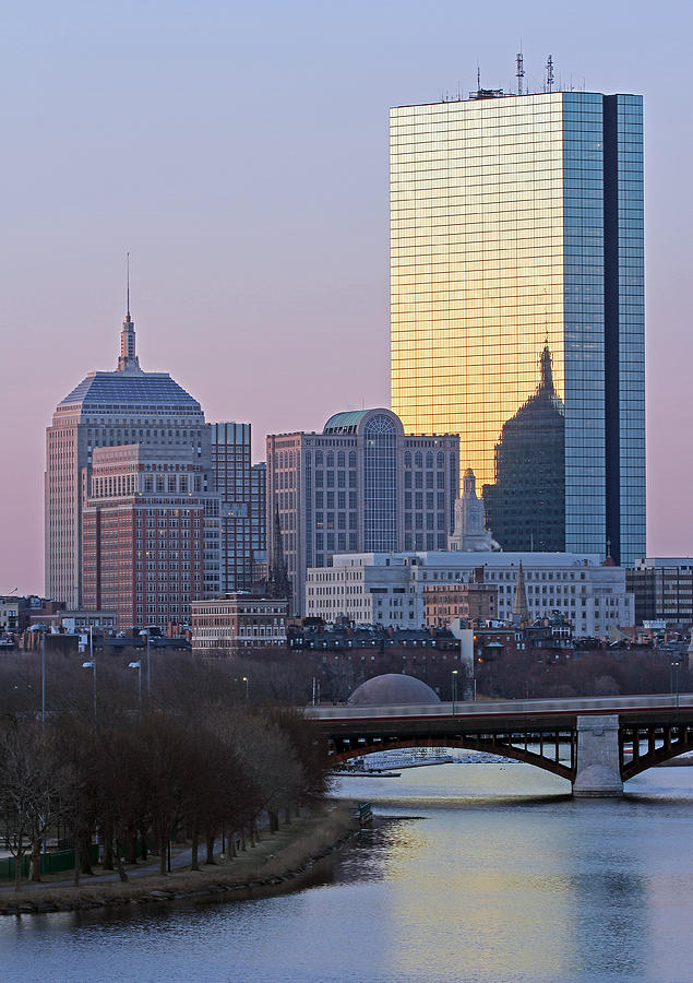 Boston Photograph - Where Old And New Meet by Juergen Roth