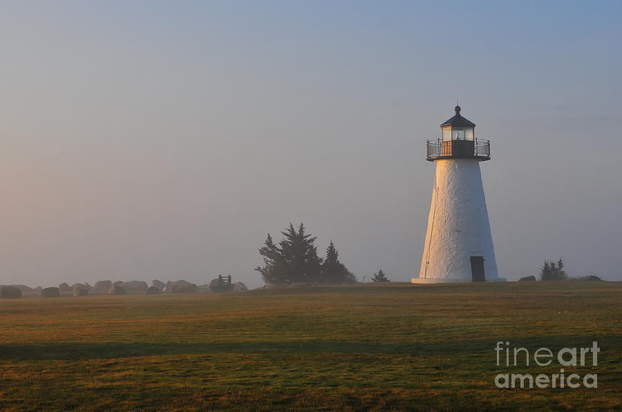 Lighthouse Photograph - Where Peace Belongs by Catherine Reusch Daley
