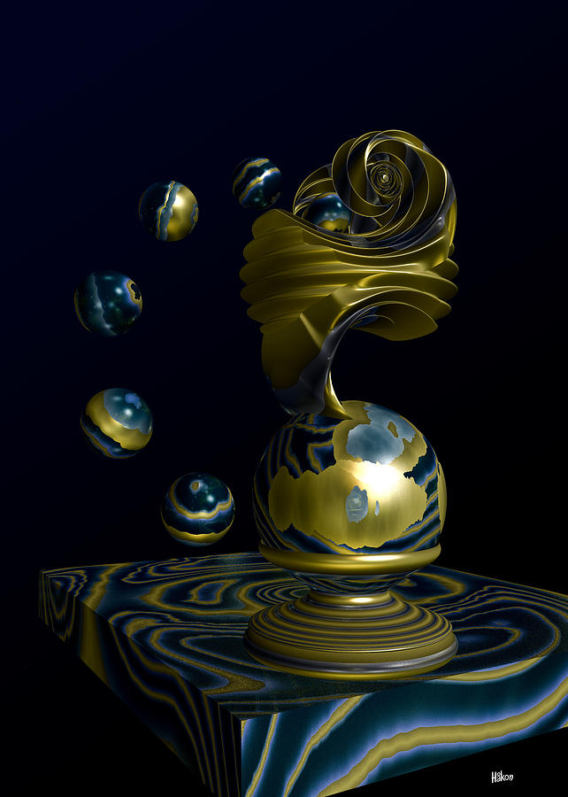 Where Planets Are Born Digital Art