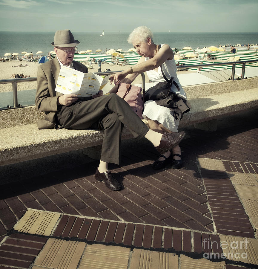 Boulevard Photograph - Where Shall We Go My Dear This Year by Michel Verhoef