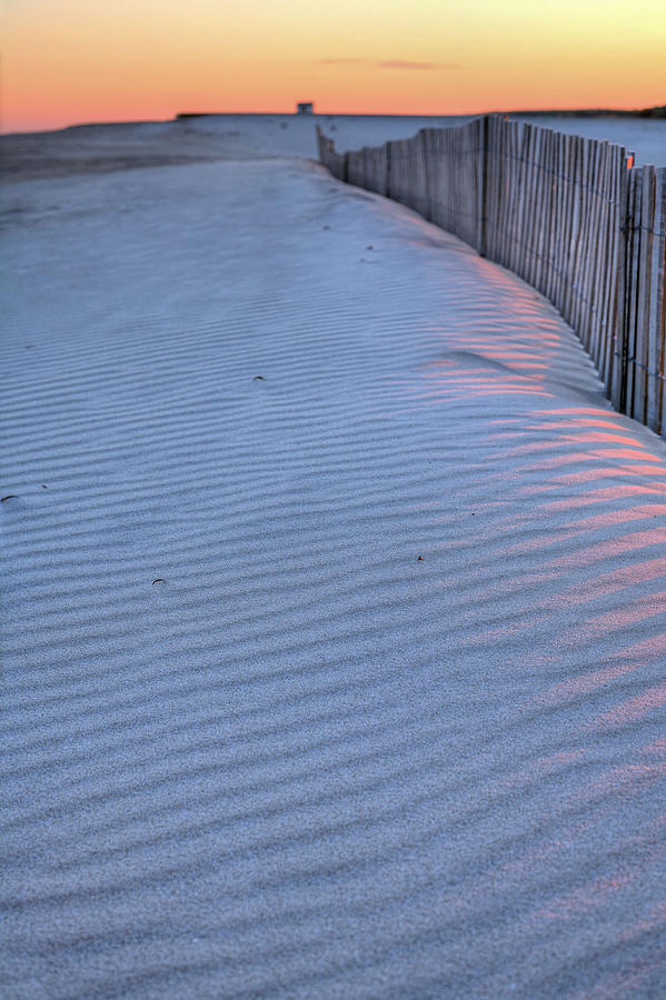 Ocean City Maryland Photograph - Where The Boardwalk Ends by JC Findley