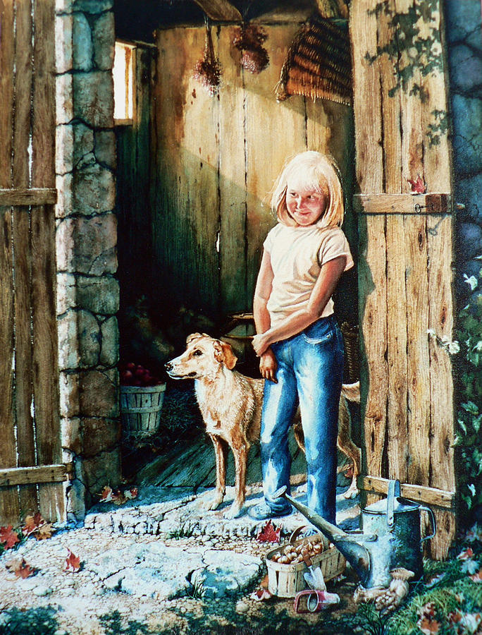 Tribute To Connie Francis Painting - Where The Boys Are by Hanne Lore Koehler
