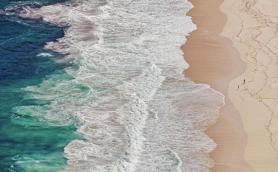 Ocean Photograph - Where The Ocean Ends... by Andreas Feldtkeller