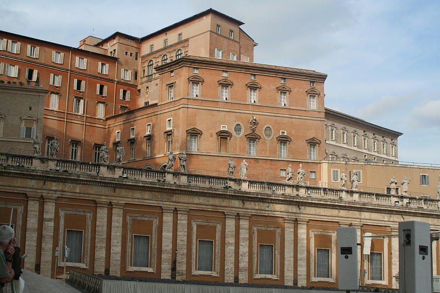 Rome Photograph - Where The Pope Lives by Dick Willis
