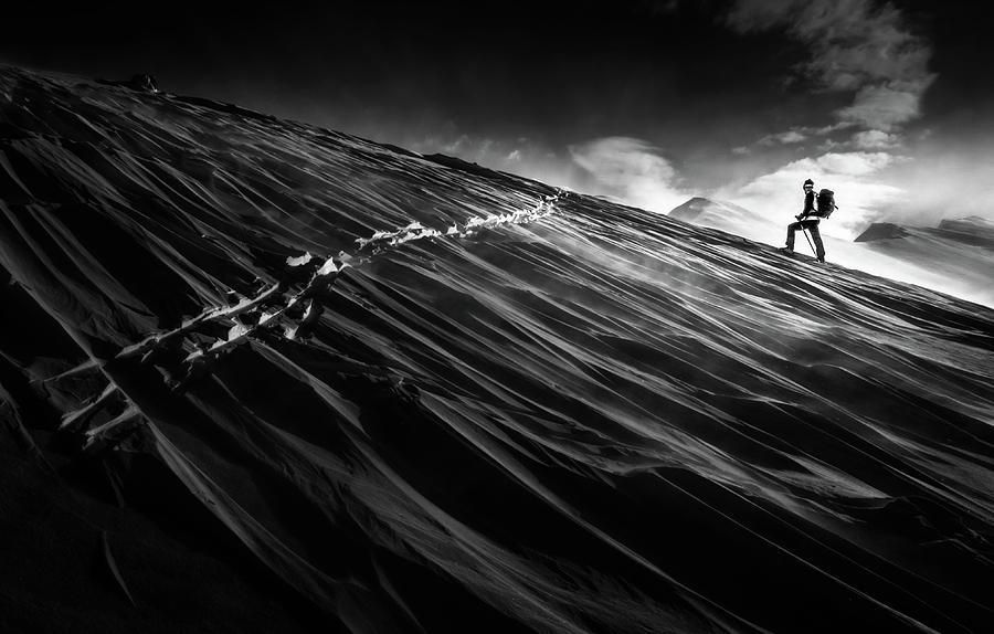 Slovenia Photograph - Where The Trail End? by Sandi Bertoncelj