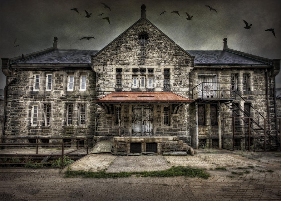 Eastern State Penitentiary Photograph - Where Time Stands Still by Yelena Rozov
