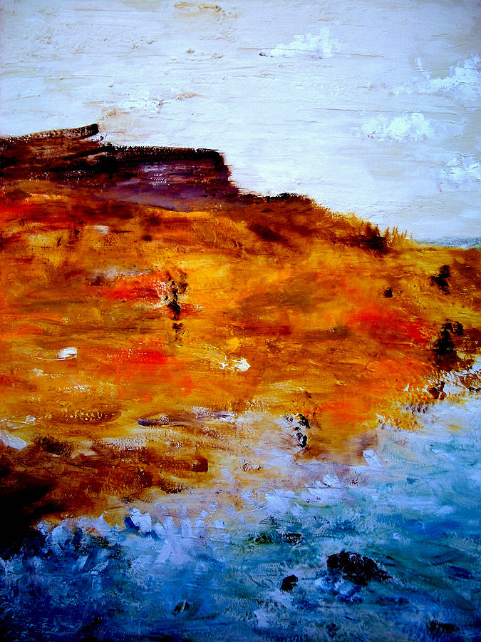 Beach Painting - Where We Used To Go by Guillermo De Llera