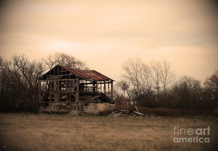 Barn Photograph - Where We Used To Play by Debi Burns