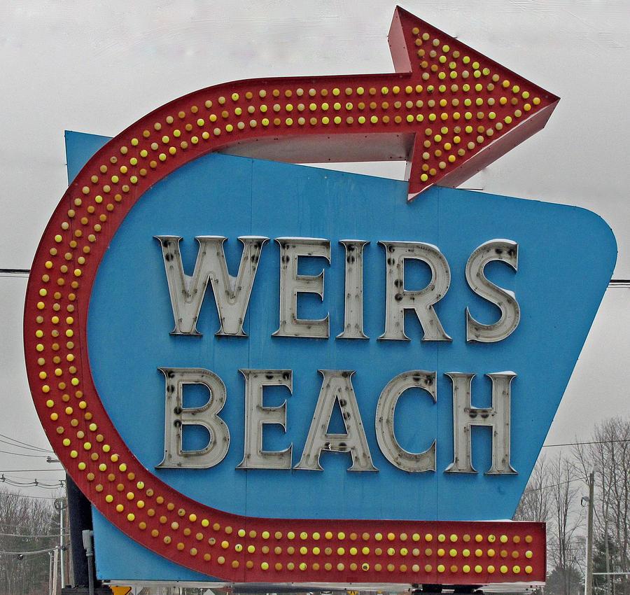 Sign Photograph - Wheres Weirs? by Barbara McDevitt