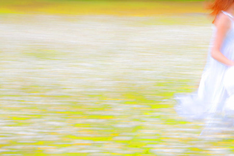 Impressionism Photograph - Wherever She Ran by Theresa Tahara