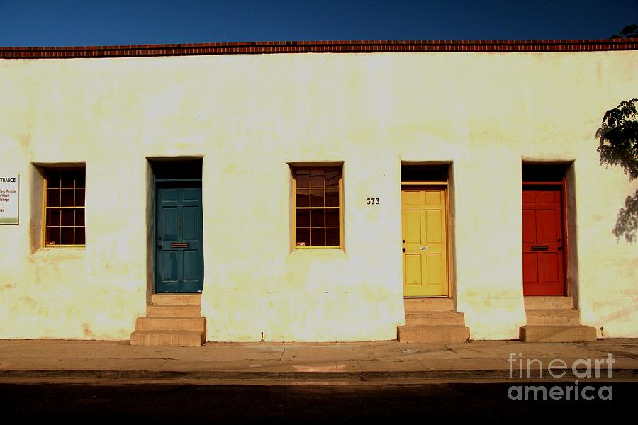 Bario Photograph - Which Door Do I Choose by Diane Greco-Lesser