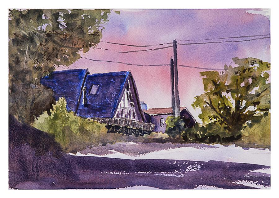 Whidbey Island Painting - Whidbey Getaway by Barry Jones