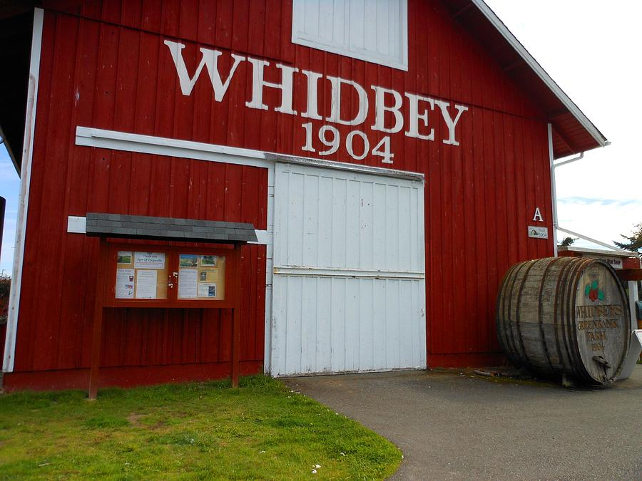 Whidbey Island Photograph - Whidbeys Greenbank Farm by Kay Gilley