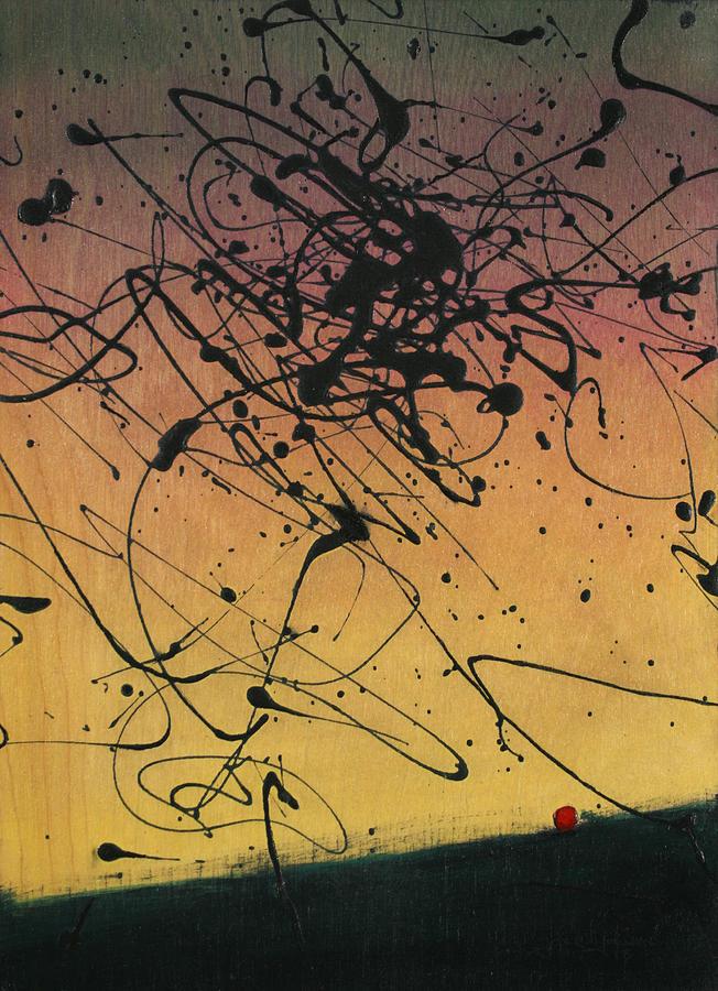 Sisyphus Painting - While Sisyphus Slept by James W Johnson