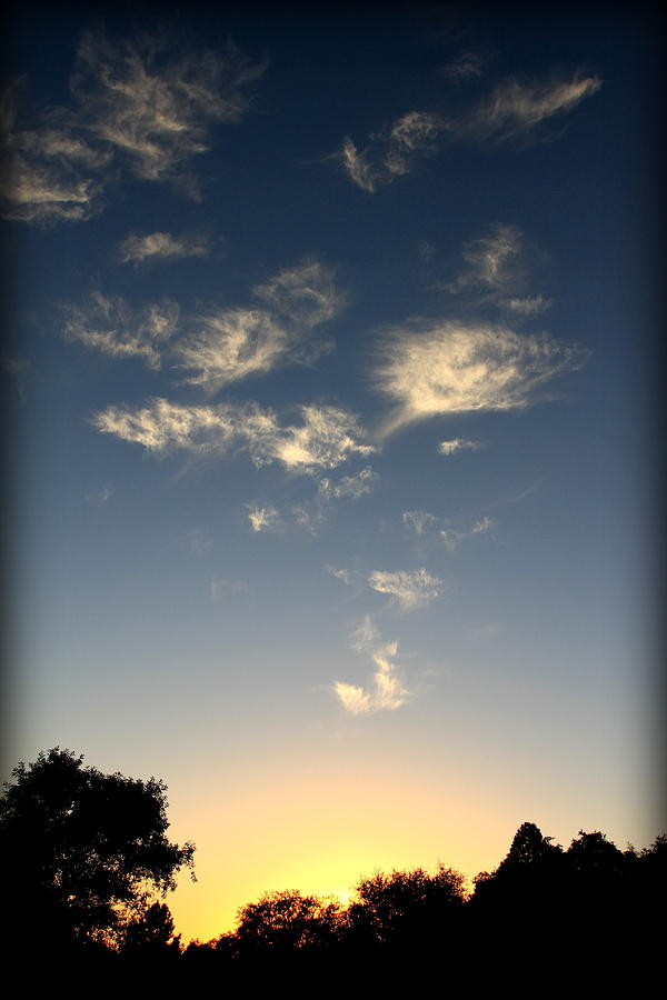Cloud Photograph - Whimsical Sunset by Michael Curry