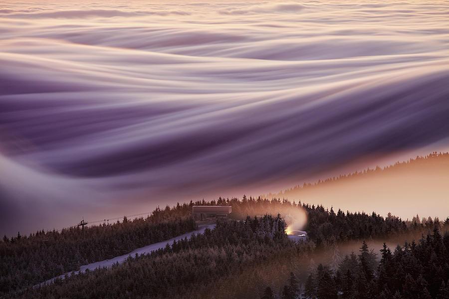 Sky Photograph - Whipped Cream by Martin Rak