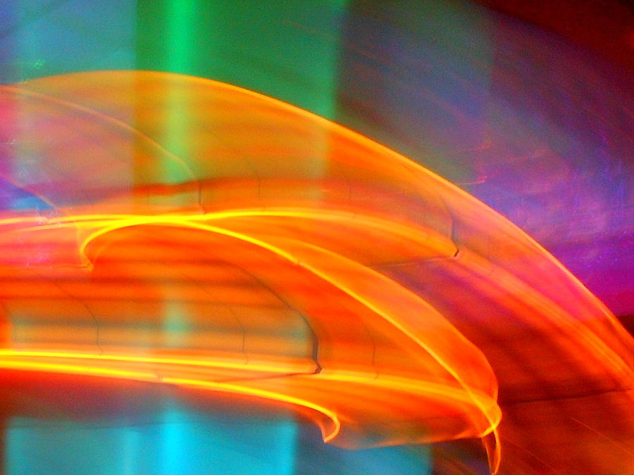 Abstract Photograph - Whirlwind On Venus by James Welch