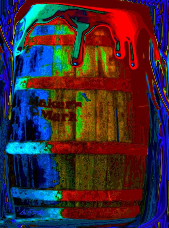 Whiskey Digital Art - Whiskey A Go Go by Alec Drake