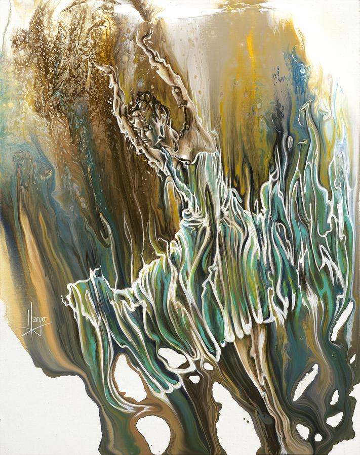 Whisper Painting - Whisper by Karina Llergo
