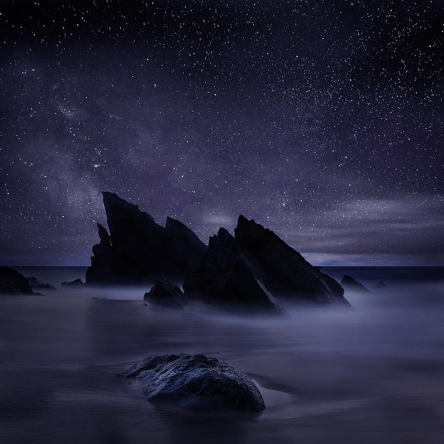 Night Photograph - Whispers Of Eternity by Jorge Maia