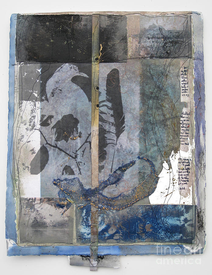 Collage Mixed Media - Whispers of the Positive by Wen Redmond