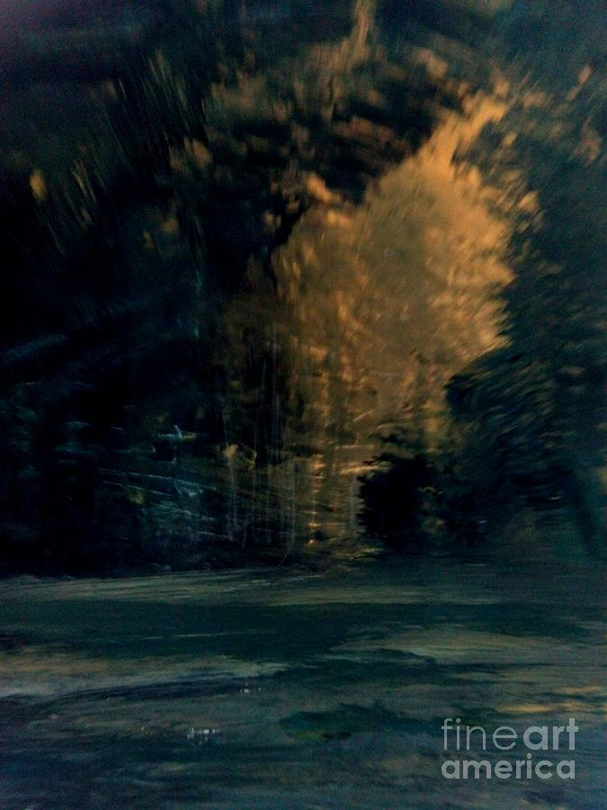 Woods Painting - Whistling Winds by Trilby Cole