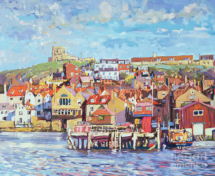 Nice Painting - Whitby by Martin Decent