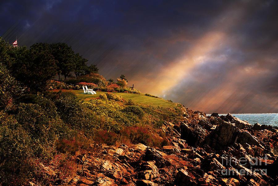 Summer Photograph - White Adirondacks by Lois Bryan