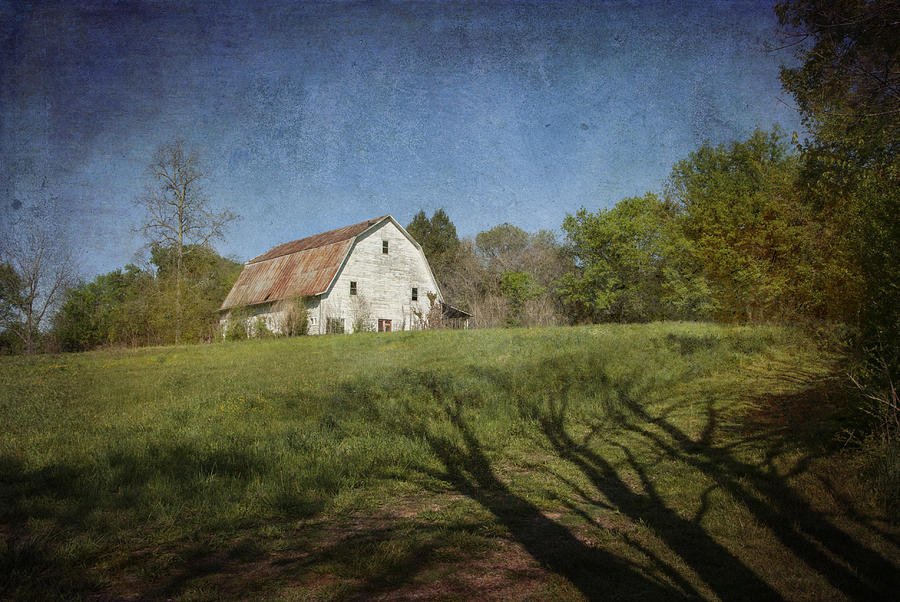 White Barn I by Carol Erikson