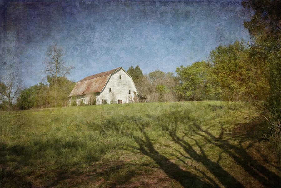 White Barn II by Carol Erikson