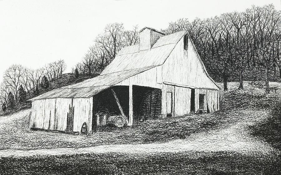 Old Barns Drawings