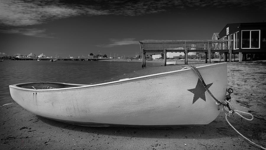 Boat Photograph - White Boat by Dapixara Art