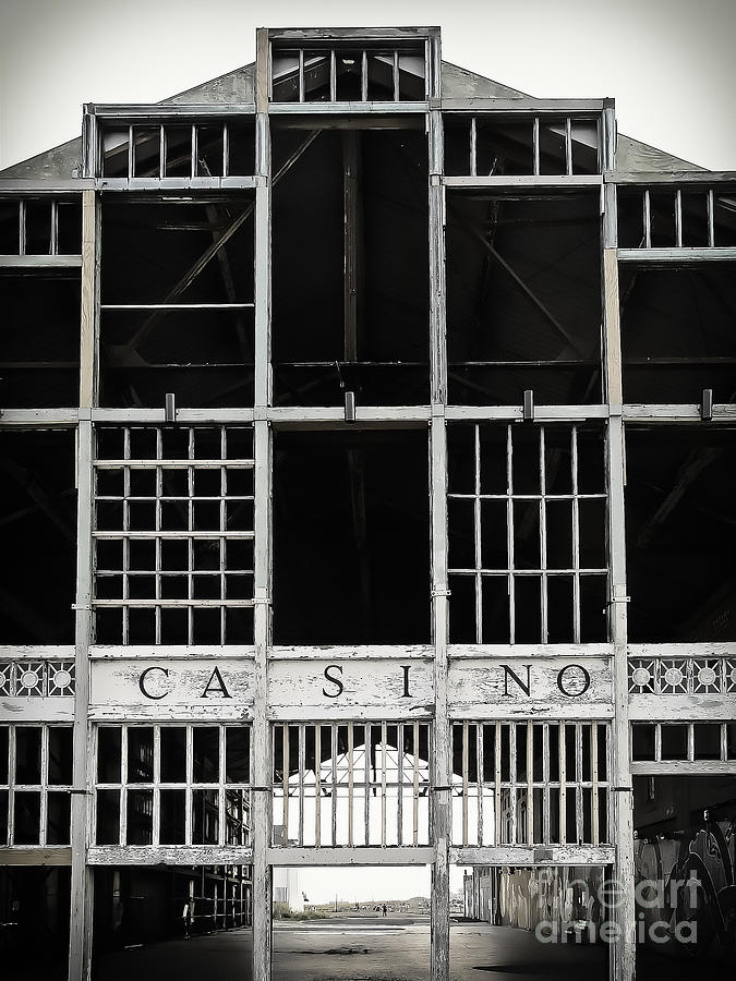 Casino Photograph - White Casino by Colleen Kammerer